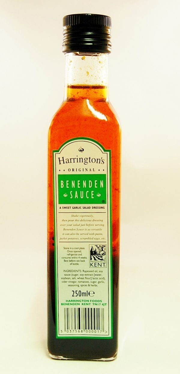 Harringtons original garlic sauce ml