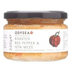 Odysea Red Pepper Feta Meze g