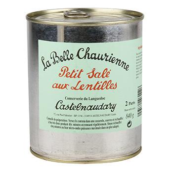 Petit sale aux lentilles La Belle Chaurienne.
