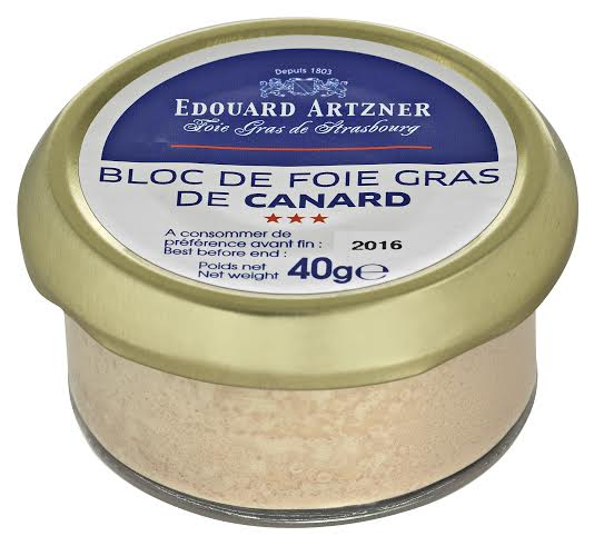 bloc de foie gras de canard artzner