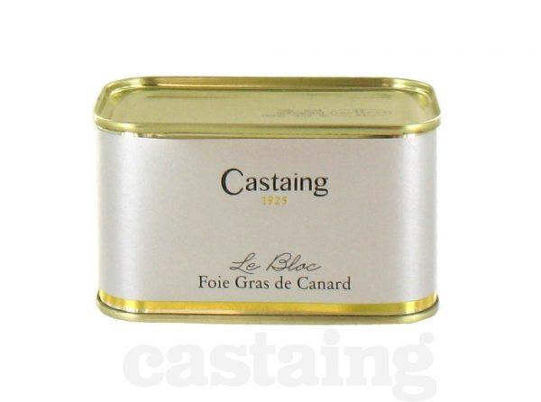 bloc de foie gras de canard castaing