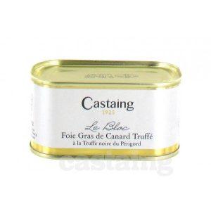 bloc de foie gras de canard truffe castaing g