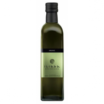 iliada organic extra virgin olive oil ml