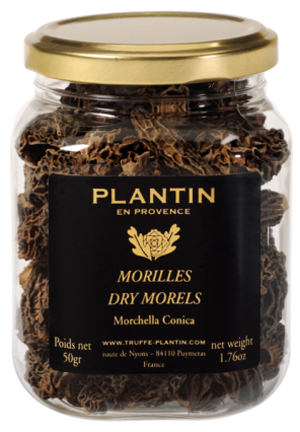 plantin dry morels g