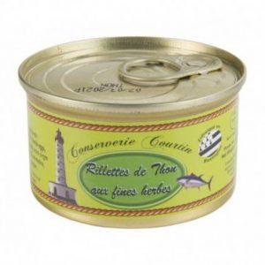 rillette de thon aux fines herbes  g