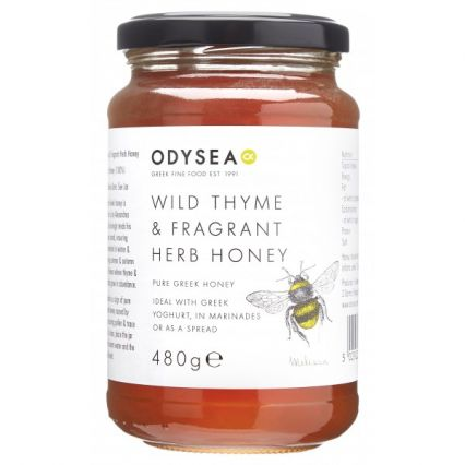 wild thyme fragrant herb honey