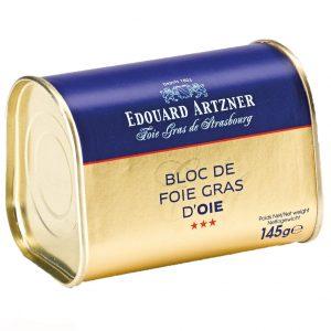 edouard artzner foie gras goose 145g