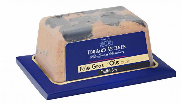 Foie Gras Oie Entier Truffes