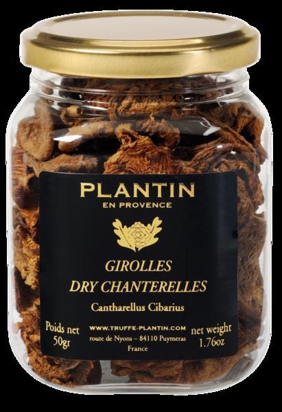 Dried chanterelle (girolles) mushrooms 50g