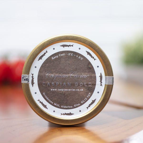 Caspian Caviar - Gold Oscietra 50g tin