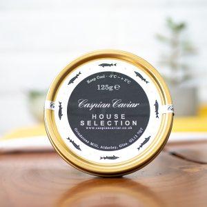 Caspian - Caviar House Selection Caviar 125g jar