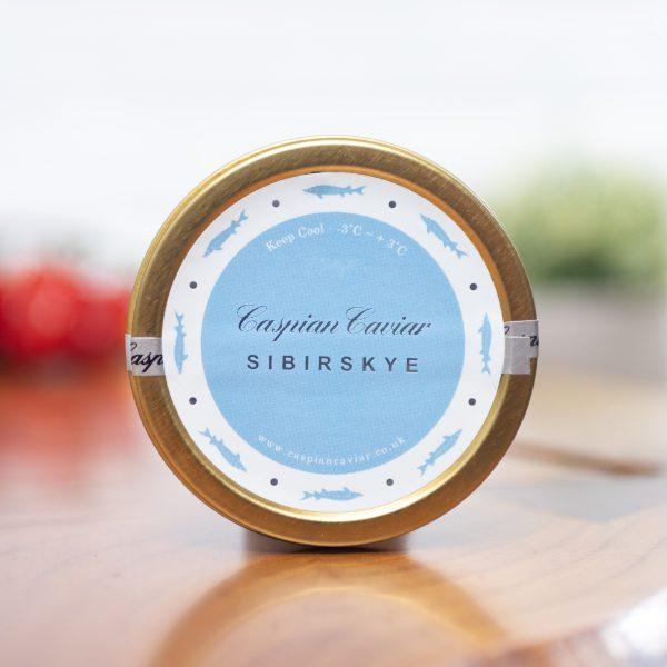 Caspian Caviar - Sibirskye Caviar 50g tin