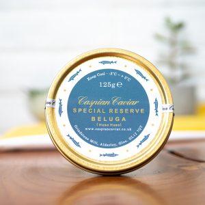 Caspian - Caviar Special Reserve Huso Huso Beluga Caviar 125g jar
