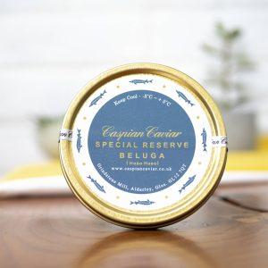 Caspian Caviar - Special Reserve Huso Huso Beluga Caviar