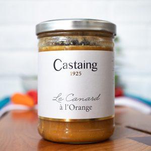 Castaing - Canard A L'Orange 400g jar