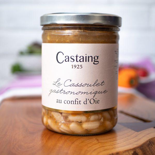 Castaing - Cassoulet Gastronomique Au Confit D'Oie 820g jar