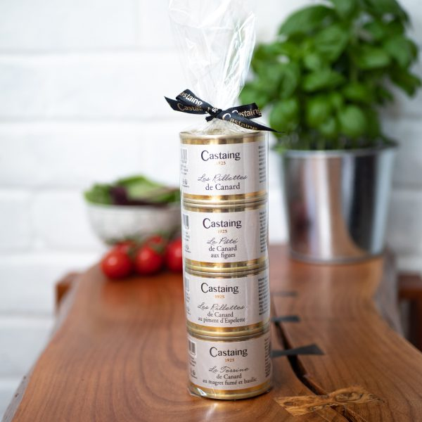 Castaing - Castaing Patés Discovery Set 4 x 67g tins