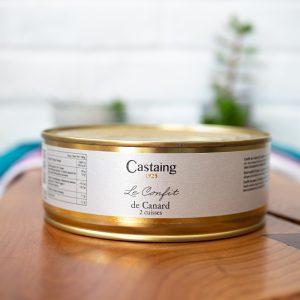 Castaing - Confit De Canard 820g tin