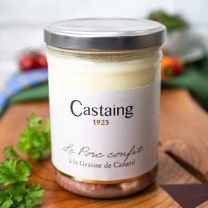 Castaing - Confit De Porc 720g tin