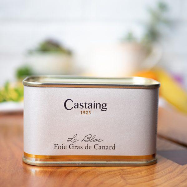 Castaing - Duck Foie Gras Castaing 400g tin