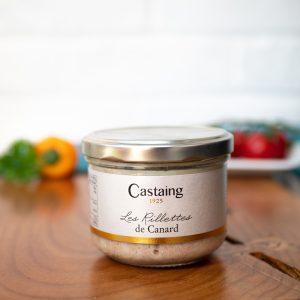Castaing - Duck Rillettes 180g jar