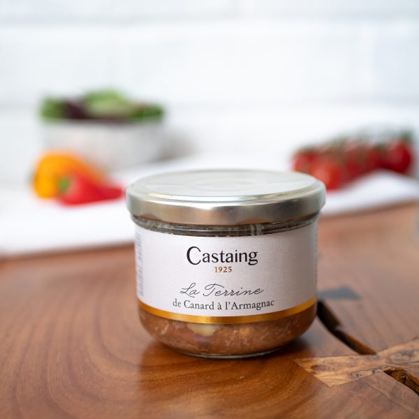 Castaing - Duck Terrine With Armagnac 180g jar