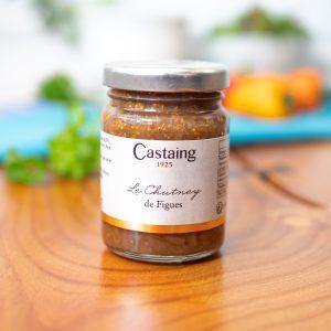 Castaing - Fig Chutney 100g jar