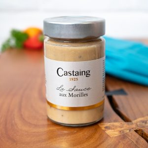 Castaing - Sauce Aux Morilles 180g jar