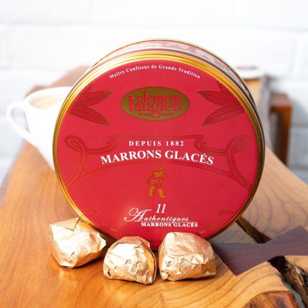 Clement Faugier - Marrons Glaces 11 Pieces 260g tin
