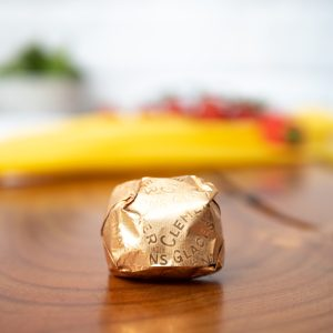 Clement Faugier - Single Marron Glace Wrapped In Gold Foil