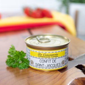 Conserverie Courtin - Scallop Confit De Saint-Jacques 130g tin