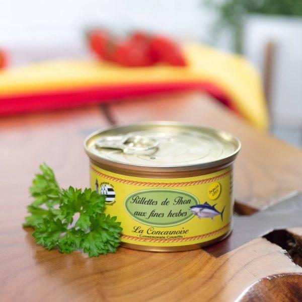 Conserverie Courtin - Tuna Rillettes De Thun Aux Fines Herbes 130g tin