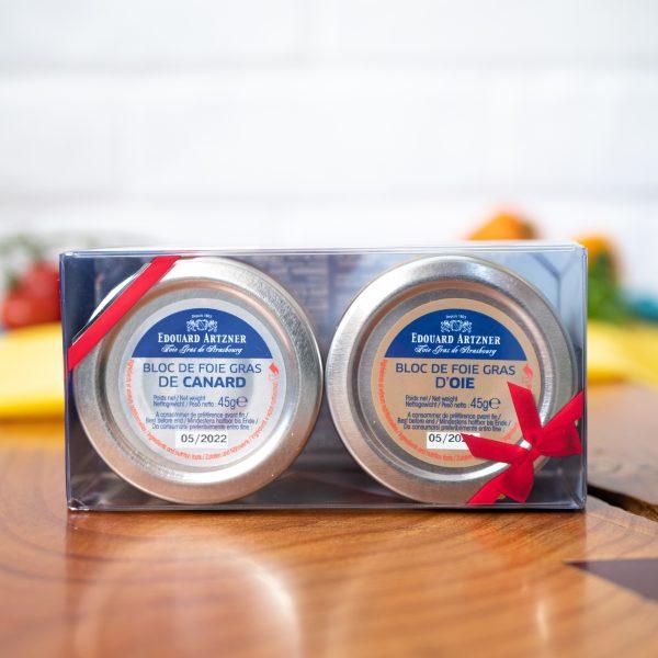Edouard Artzner - Foie Gras Tasting Set 2 x 45g jars