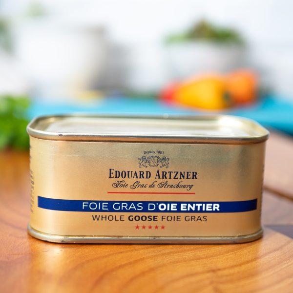 Edouard Artzner - Whole Goose Foie Gras 200g tin