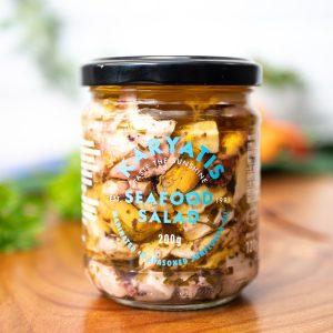 Karyatis - Seafood Salad 200g jar