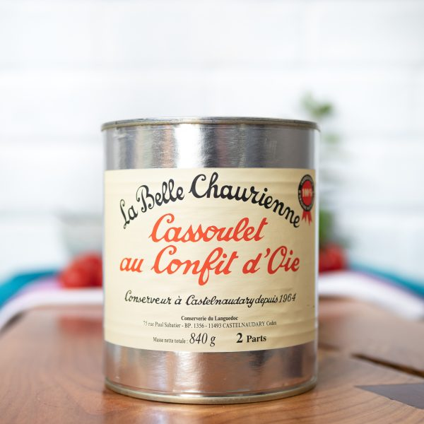 La Belle Chaurienne - Goose Cassoulet 840g tin