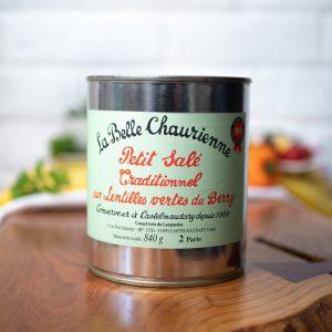 La Belle Chaurienne - Petit Salé Aux Lentilles 840g tin