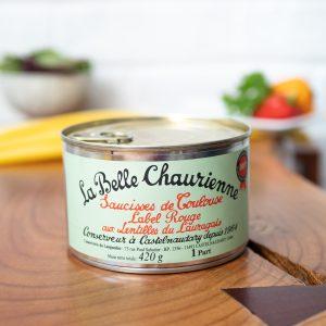 La Belle Chaurienne - Toulouse Sausages And Lentils 420g tin