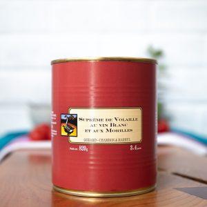 Maison Godard - Chicken Supreme with white wine and Morels Sauce 820g
