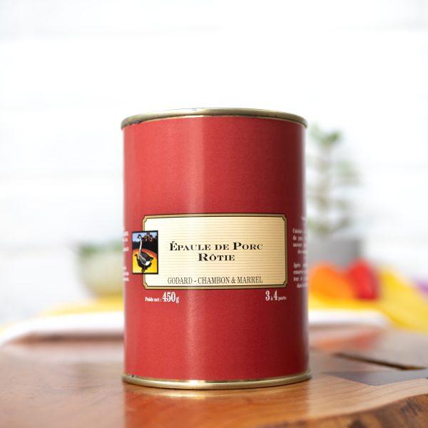 Maison Godard - Roasted Shoulder of Pork 450g tin