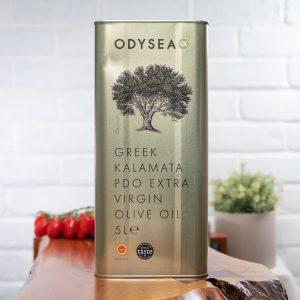 Odysea - Greek Kalamata PDO Extra Virgin Olive Oil 5l tin