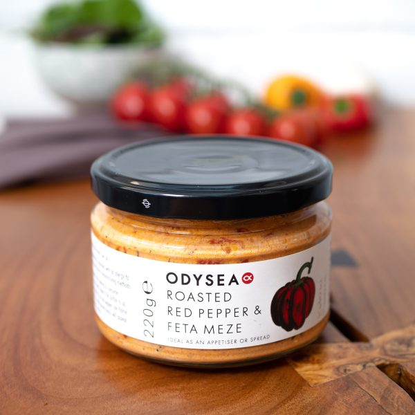 Odysea - Red Pepper & Feta Meze 220g jar