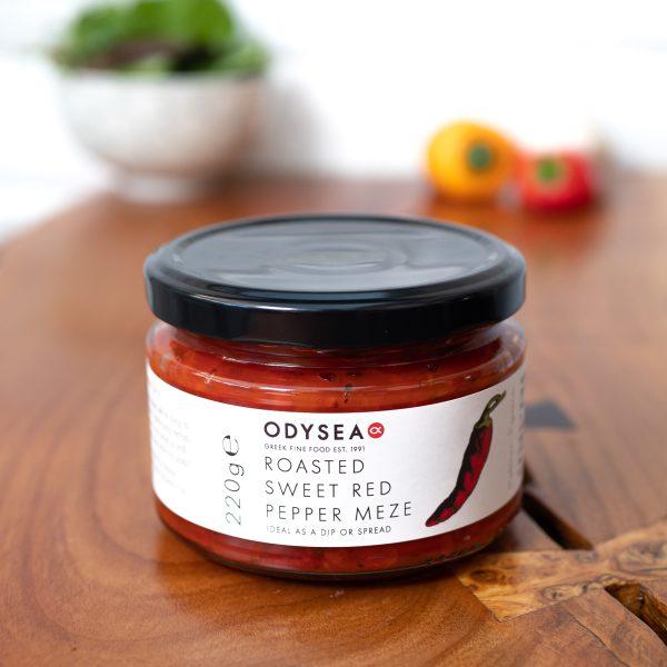 Odysea - Roasted Sweet Red Pepper Meze 220g jar