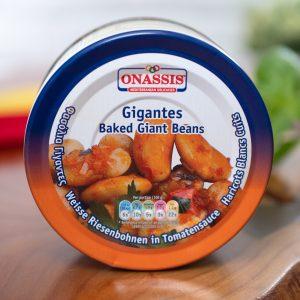 Onassis - Baked Giant Beans In Tomato Sauce tin
