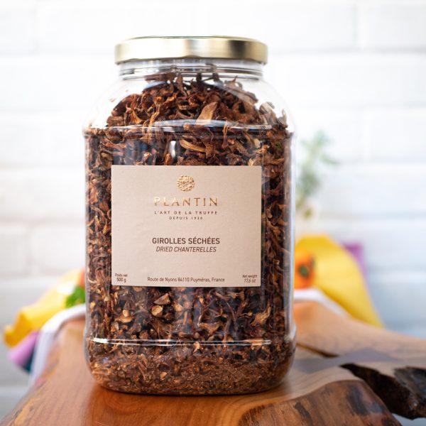 Plantin - Dried Chanterelles Girolles 500g tub