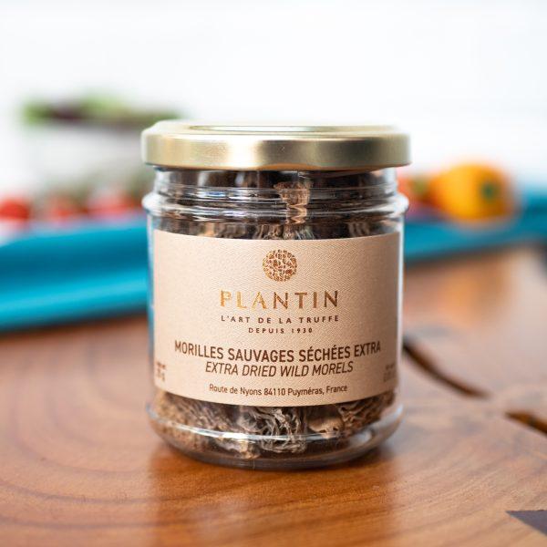 Plantin - Dried Morel Mushrooms Grade EXTRA 25g jar