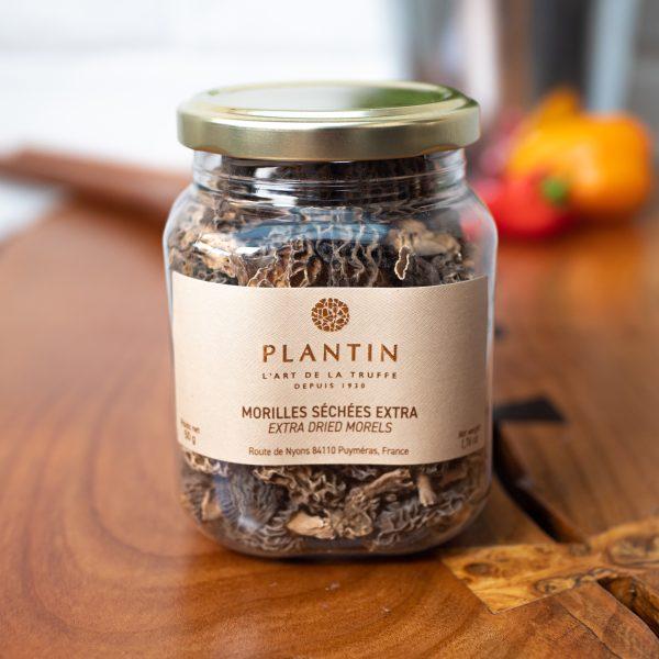 Plantin - Dried Morel Mushrooms Grade EXTRA 50g jar