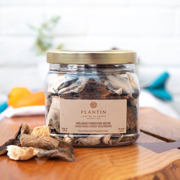 Plantin - Dried Wild Forest Mushrooms 125g tub