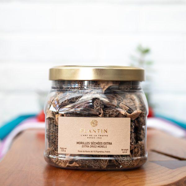 Plantin - Dry Morel Mushrooms Grade EXTRA 125g tub