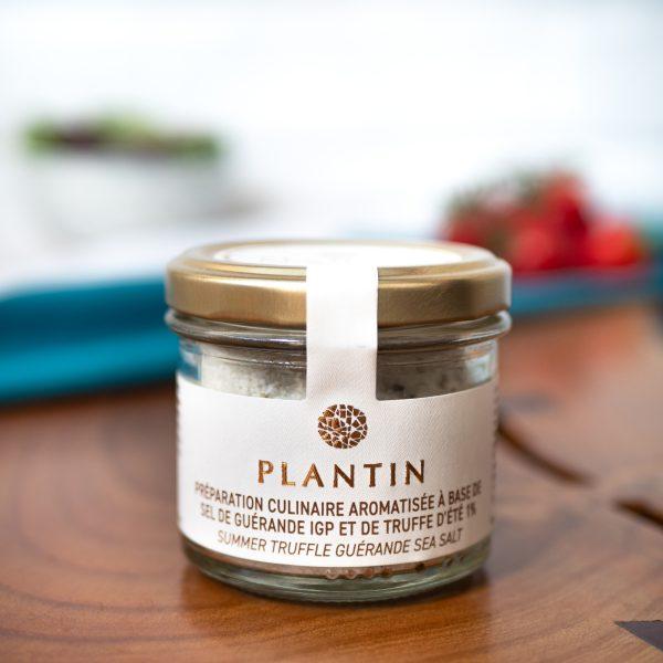 Plantin - Summer Truffle Guerande Sea Salt 100g jar